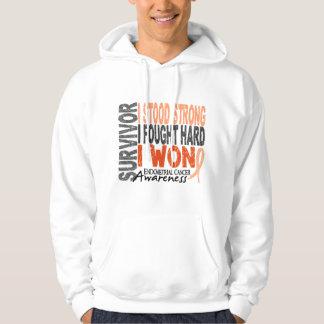 Endometrial Cancer Survivor 4 Sweatshirt