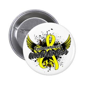 Endometriosis Awareness 16 6 Cm Round Badge