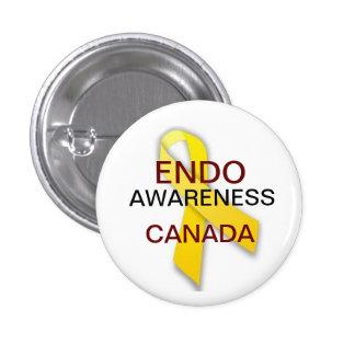 Endometriosis Awareness 3 Cm Round Badge