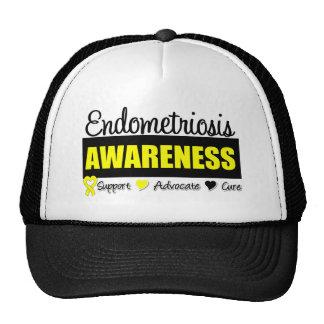 Endometriosis Awareness Badge Cap