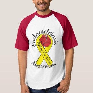 ENDOMETRIOSIS AWARENESS Baseball T-Shirt