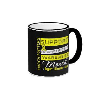 Endometriosis Awareness Month Ringer Mug