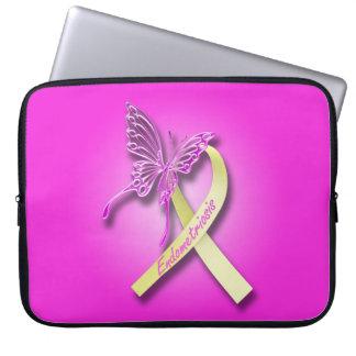 Endometriosis Awareness Ribbon Computer Sleeves