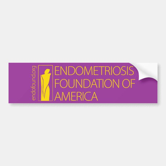 Endometriosis Foundation of America Bumper Sticker