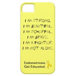 Endometriosis:  I Am iPhone Cover iPhone 5 Cases