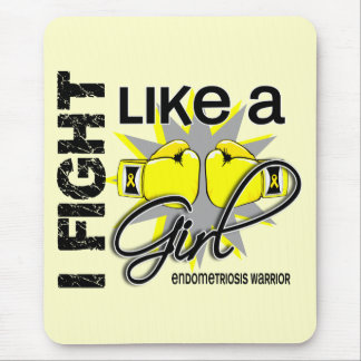 Endometriosis I Fight Like A Girl 13 2 Mouse Pad