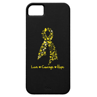 Endometriosis Love Courage Hope Butterflies Barely There iPhone 5 Case