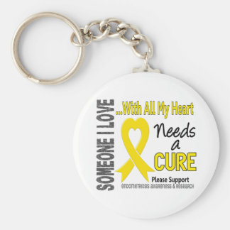 Endometriosis Needs A Cure 3 Key Ring