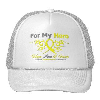 Endometriosis Tribal Ribbon Hero Cap