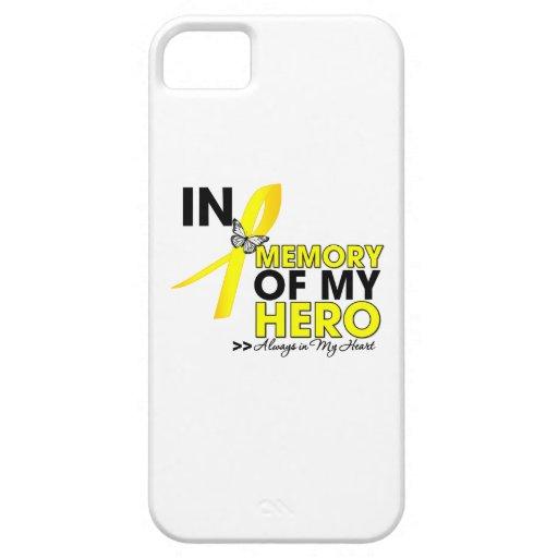 Endometriosis Tribute In Memory of My Hero iPhone 5 Case