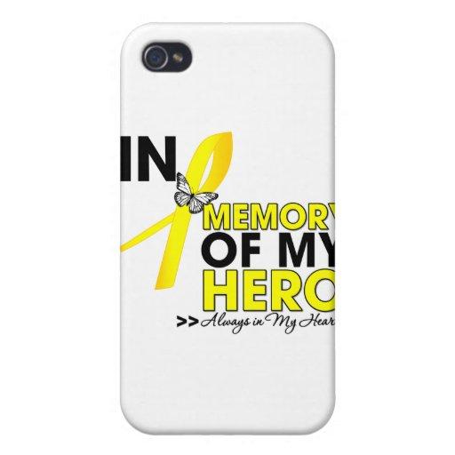 Endometriosis Tribute In Memory of My Hero iPhone 4 Case