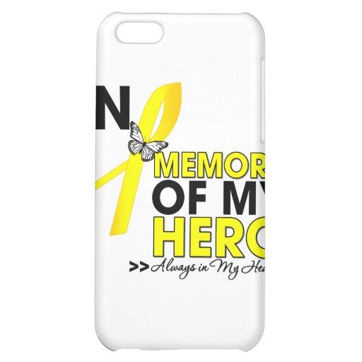 Endometriosis Tribute In Memory of My Hero iPhone 5C Cover