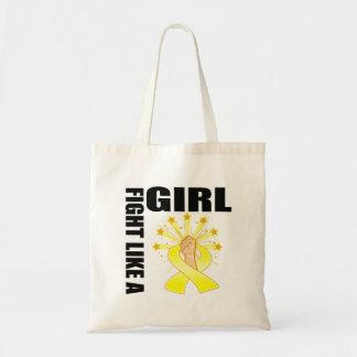 Endometriosis Victory Fight Like A Girl Canvas Bag