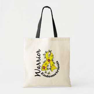 Endometriosis Warrior 15 Tote Bag