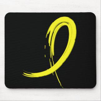 Endometriosis's Yellow Ribbon A4 Mouse Pad