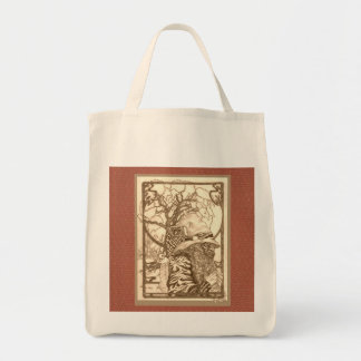 Endor the Wizard Grocery Tote Bag
