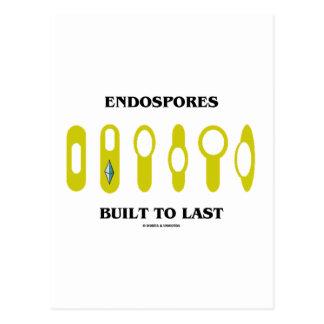 Endospores Built To Last (Bacterial Attitude) Postcard