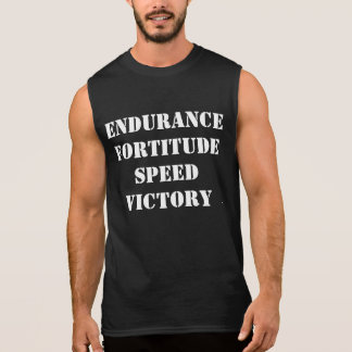 Endurance, Fortitude, Speed, Victory Muscle Shirt