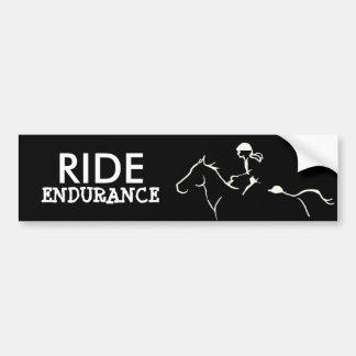 Endurance Horse Bumper Sticker