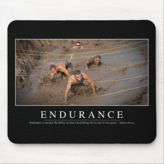 Endurance: Inspirational Quote Mouse Mat