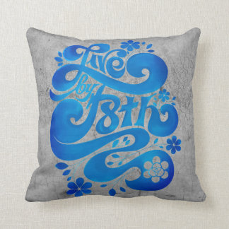 ENDURE LIVE BY F8TH THROW PILLOW