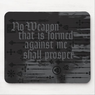 ENDURE NO WEAPON MOUSE MAT