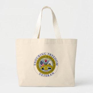 Enduring Freedom Veteran Canvas Bag