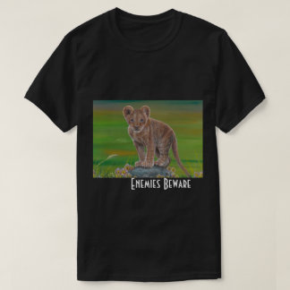 Enemies Beware Men's T T-Shirt