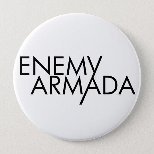Enemy Armada Black Logo Pin