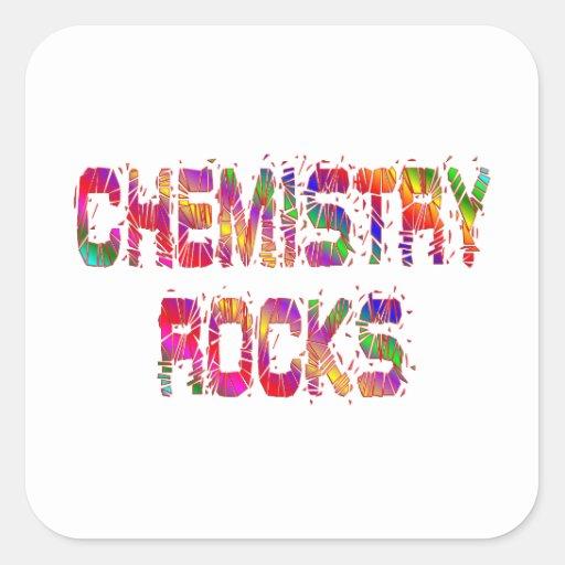 Energetic Chemistry Rocks Sticker