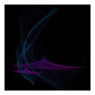 Energetic fluid 1 poster