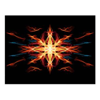 Energetic Geometry- Fire Element Postcards