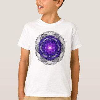 Energetic Geometry - Indigo Prayers T-Shirt