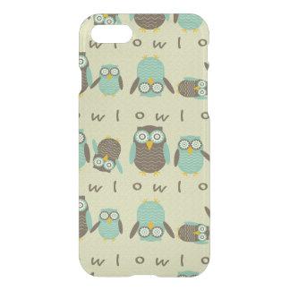 Energetic Owls iPhone 7 Case
