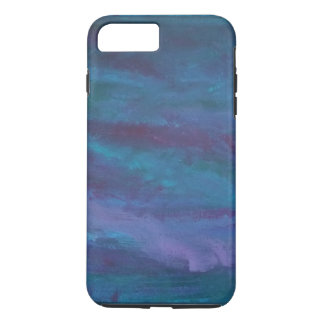 Energetic Tech | Blue Purple Teal Turquoise Pastel iPhone 8 Plus/7 Plus Case