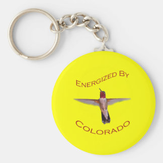 Energized By Colorado Keychain