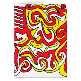 Energized Careful Meaningful Celebrated Note Card