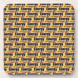 Energy Beverage Coasters