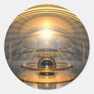 Energy Cell Round Sticker