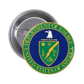 Energy Department Seal 6 Cm Round Badge