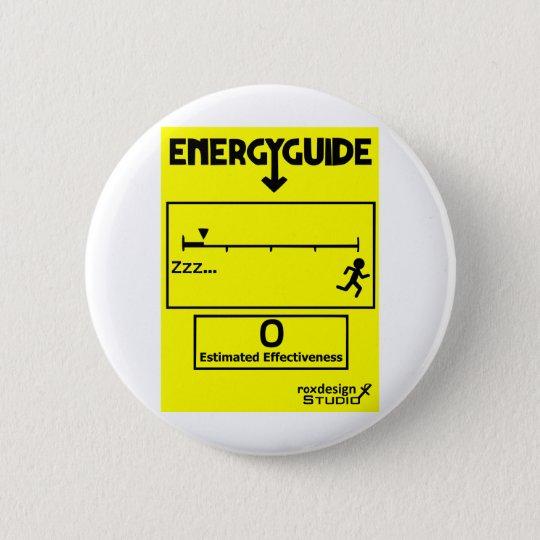 Energy Efficient 6 Cm Round Badge