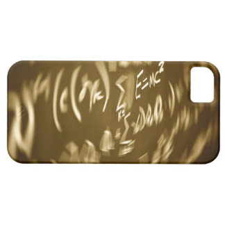 Energy equation on a chalkboard iPhone 5 cover