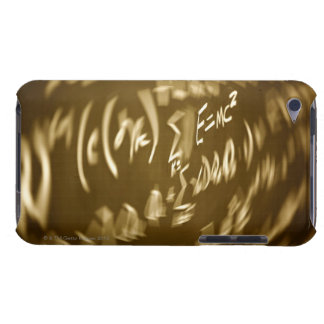 Energy equation on a chalkboard iPod touch case