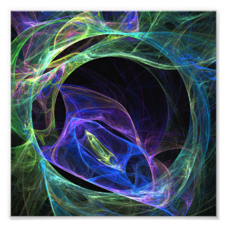 Energy Fractal Photo Print