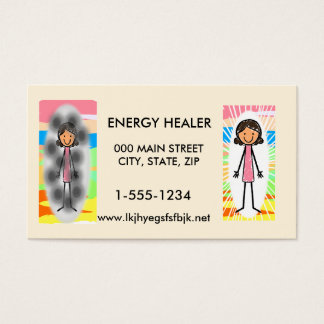 Energy Healer Business Card 100 pack