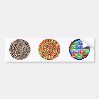 Energy Healing Chakra - Futuristic Designs Bumper Sticker
