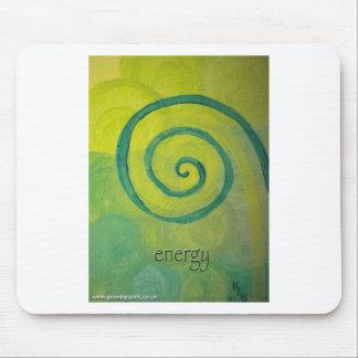 Energy Heart Art Mouse Pad