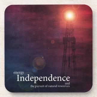 Energy Independence Beverage Coasters