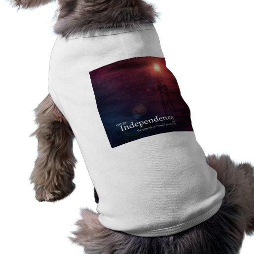 Energy Independence Doggie Tshirt