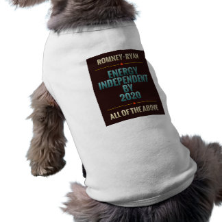 Energy Independent By 2020 Pet Clothes